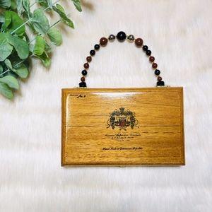 Handbags - Vintage Arturo Fuente Wooden Cigar Box Handbag